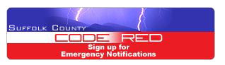 Graphic Suffolk County Code Red - Go to the Suffolk County Code Red Sign Up page